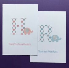 10 Personalised Thank You Cards - Postcard - Girls - Boys - Childrens - Birthday