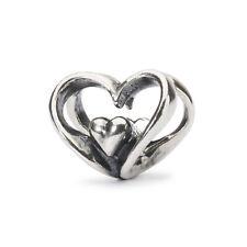 TROLLBEADS Sterling Silver Heart to Heart Bead TAGBE-10202