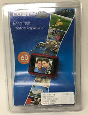 Coby DP151 Keychain Digital Photo Frame 60 Photos LCD Red 1.25 Inch Memories
