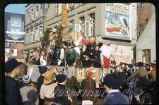 1956 red border kodachrome photo slide Frankfurt Germany Parade Movie Poster