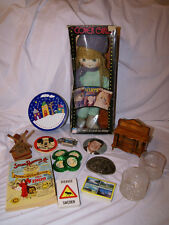 Junk Drawer Lot Vintage miscellaneous collectables  BELT BUCKLE  pins (BOX C)