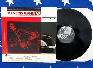LP Vinyl - FRANCOIS JEANNEAU Ephémère - OR305 OWL07 - FREE JAZZ