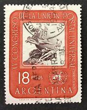 Argentinie 1964  Michel 840 - Airmail The 15th U.P.U. Congress-Vienna  gebruikt