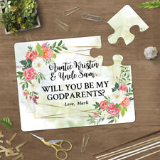 Will You Be My Godparents Proposal Asking Godmother and Godfather Card - 114
