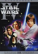 ✅ STAR WARS IV A NEW HOPE DVD 1 DISC REMASTERED VERSION WIDESCREEN USA REGION 1✅