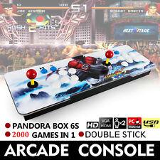 2000 in 1 Video Games Arcade Console Machine Double Stick Home Pandora's Box 6s
