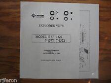 Crosman 1322 1377 - TWO Seal Kits - Valve & Breech Bolt Seals - Exploded View