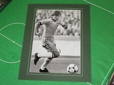 Flamengo Legend Zico Signed & Mounted Brazil Brasil Photograph