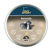 H&N SPORT BARACUDA  cal. 6.35 mm .25 200 pcs 2.01 g 31.02 gr Air rifle Pellets