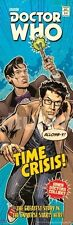 TELEVISION POSTER Time Crisis Doctor Who Comic Cover 12x36 Culturenik