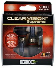 EiKO 9006 Clear Vision Supreme Halogen Bulb Pack of 2