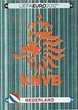 Panini 166 Logo Emblem Nederland Niederlande EM 2012 Poland - Ukraine