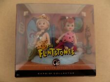 Barbie Silver Label Flinstones Pebbles Bam Bam Collector Mattel Nib