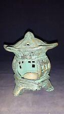 *2 (two) ORIENTAL CANDLE LAMP/Lantern GARDEN STAKE//GARDEN DECOR-OUTDOOR DECOR