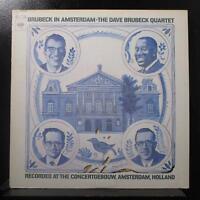 The Dave Brubeck Quartet - In Amsterdam LP VG+ CS 9897 Stereo 360 Sound Red 2i