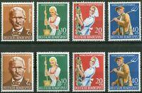 2 x Bund Nr. 297 - 300 sauber postfrisch Satz BRD Wohlfahrt Landwirtschaft 1958