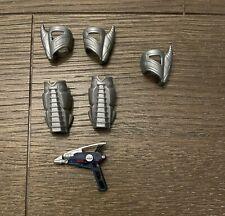 Power Rangers In Space Astro Armor Accessories Wrist Leg Astro Blaster
