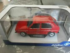 Miniature 1/18 Solido Vw Golf 1 L 4 portes Rouge Volkswagen Red Mars Neuf 5