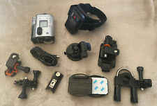 Sony Action Cam Camera HDR-AS200V Live View Remote RM-LVR2 and Accessories