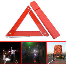 Car Emergency Breakdown Warning Triangle Red Reflective Safety Hazard Travel Kit
