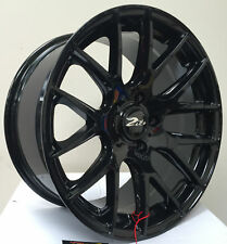 """22"""" ZITO 935 GLOSS BLACK ALLOY WHEELS TO FIT BMW X5 X6 RANGE ROVER SPORT VOUGE"""