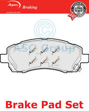Apec Front Brake Pads Set OE Quality Replacement PAD1097