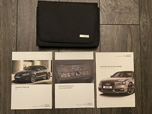 AUDI A1 S1 & A1 S1 SPORTBACK OWNERS USER MANUAL HANDBOOK & WALLET 2015-2018 8X