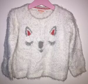 Girls Age 2-3 Years - Bluezoo Fluffy Top