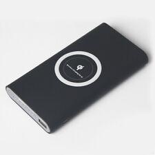 Banco de Alimentación 500000mAh USB Inalámbrico Qi carga de 2in1 Portátil Cargador De Batería Carcasa