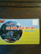 14 BEAUTIFUL PHOTO POST CARD FOLDER BANFF CANADIAN ROCKIES HOT SPRINGS NEW