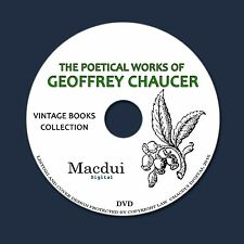 The poetical works of Geoffrey Chaucer Vintage Ebooks 6 PDF on 1 DVD Poetry