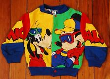 Disney Retro Mickey's Stuff Mickey Mouse Goofy Pluto Color Block Kids Jacket 18M