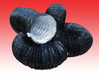 160mm/6mt COMBIFLEX COMBI FLEXIBLE DUCTING for WELDING FUME EXTRACTOR FANS BLACK