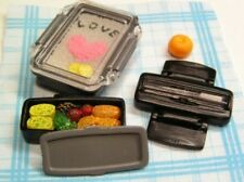 Re-ment Our family lunch box #3-Homemade lunch box w/love egg fried meat doll