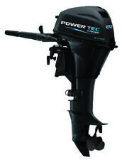 POWERTEC 20 HP FOUR 4 STROKE OUTBOARD MARINE ENGINE MOTOR VESSEL INFLATABLE