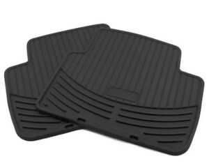Genuine BMW E46 325i 330i M3 All Weather Rubber Floor Mat Rear 82550136373 NEW