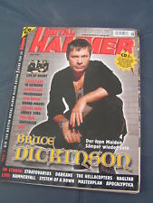 Metal Hammer 6/2005 IRON MAIDEN BRUCE DICKINSON HAMMERFALL IN EXTREMO LIFE OF AG