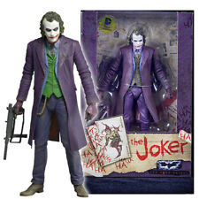 "Joker Batman Dark Knight Heath Ledger 7"" Action Figure DC Movie Universe UK"