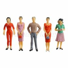 1:25 Scale Train Scenery DIY Diorama Plastic Model Train People Figures 10pcs