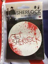 Sherlock Holmes Pegatina de vinilo Coche Hogar Oficina culto de la serie de TV de la BBC detective BN