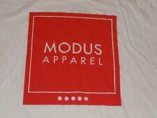MODUS APPAREL SHIRT MENS LARGE WHITE