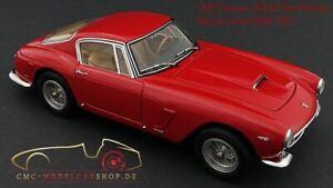 1:18 1961 Ferrari 250 GT Berlinetta Passo Corto (SWB) -- Red -- CMC