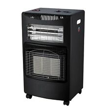 FoxHunter Portable Gas & Electric Combo Heater 4.2KW Butane Fire With Fan