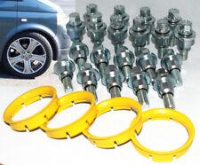 RUOTA in lega RANGE ROVER Kit di Montaggio per VW Transporter T5 20 Bulloni /& 4 Anelli