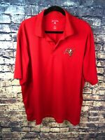 Antigua Mens Size XL Red Polo Tampa Bay Logo Free Shipping Hot Item Must Look🔥