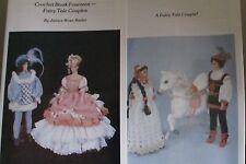 Doll Clothing Crochet Pattern Fit Barbie & Kin Fairy Tale Couple Crochet Bk.#14