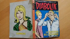 DIABOLIK anno VI n. 15  La maschera dell'assassino  ORIGINALE  Sodip 1967