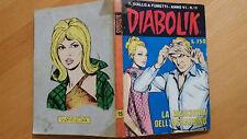 DIABOLIK anno VI n. 15  La maschera dell'assassino  ORIGINALE  Sodip 1967