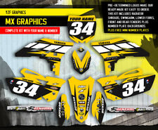 2010 2011 2012 2013 YZ 250F GRAPHICS KIT YZ250F YAMAHA MOTOCROSS BIKE DECALS