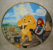 Disney Lion King The Circle of Life Bradford Exchange Collector Plate